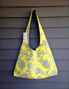 The Cupecoy Beach Bag  Over the Shoulder Slouchy Bag by Petalbags, $42.00