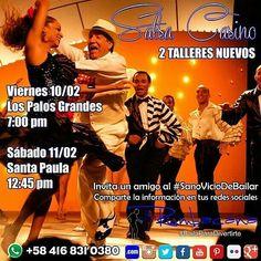 HOY VIERNES 10/2 Aprende a Bailar #SalsaCasino desde esta semana #Febrero #2017  Invita un amigo al #SanoVicioDeBailar  Comparte esta imagen en tu #Instagram  #Rumbacana #BailaParaDivertirte  Whatsapp: 58 416 831 0380
