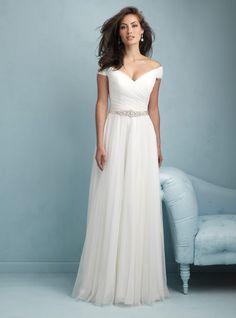 Allure 9211 | White Dress