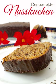 The perfect nut cake - Lush family recipe - Backen - Banana Recipes Quick Dessert Recipes, Easy Cake Recipes, Easy Desserts, Fall Recipes, Cookie Recipes, Food Cakes, Banana Recipes, Smoothie Recipes, Cake Vegan