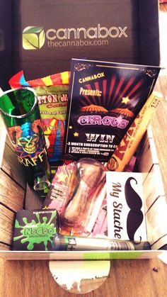 """You know its a good day when your #cannabox comes"""