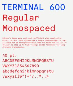 Terminal 600 — Astronaut Typography Letters, Typography Logo, Graphic Design Typography, Branding Design, Word Design, Type Design, Typography Inspiration, Graphic Design Inspiration, Monospace