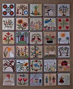 Primitive Folk Art Quilt Pattern  Sweet and by FiddlestixDesign, $34.00