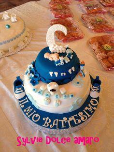 Torta Battesimo Luca