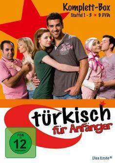 27 euro - CEM & LENA - Türkisch für Anfänger - Komplettbox, Staffel 1, 2 & 3 [9 DVDs]