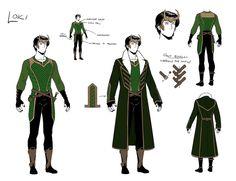 Loki, Research Renderings