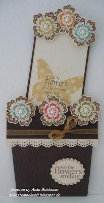 Flower Pod Pocket Card