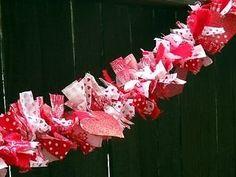 How to make a rag garland   eBay                                                                                                                                                                                 More