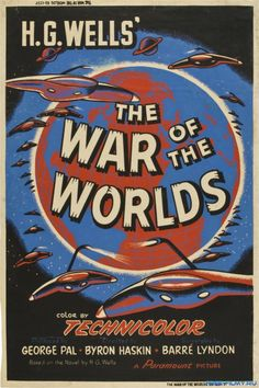 War of the Worlds; 1953; Ann Robinson, Gene Barry