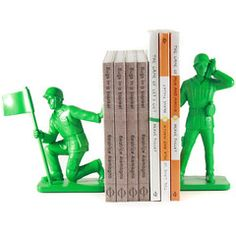 Toy Soldier Bookends | Iko Iko, bookends