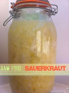From my AMAZING friend Jennifer - How to Make Raw Sauerkraut at home
