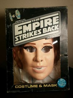 WK - Ben Cooper STAR WARS Empire Hoth Princess Leia costume 1980 (ESB)