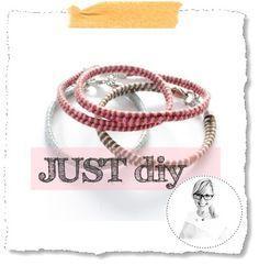 JUST diy :: Fischgrät-Armband | Livelifedeeply - now