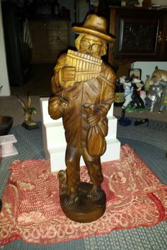 Check out this item in my Etsy shop https://www.etsy.com/listing/480122717/johnny-appleseed-wood-handcarved-folkart