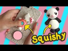 Squishy Panda y Hello Kitty :: Apachurrable Squishy DIY :: Chuladas Creativas - YouTube