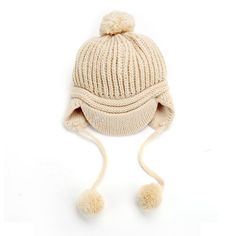 Spring Unisex Children's Knitted Hats Caps Cute Baby Hat Beanie Peaked Cap Cotton Blend 2 Online with $3.46/Piece on Betty9907's Store | DHgate.com