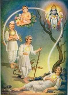 Reincarnation in Hinduism. The religious or philosophical concept that the soul or spirit, after biological death, begins a new life in a new body that may be human, animal or spiritual depending on the moral quality of the previous life's actions.  Ethan is studying this
