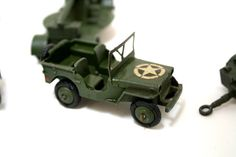 Vintage Dinky Die Cast Military Toys.  A Lot by CreekLifeTreasures, $48.00