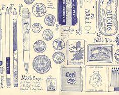 47 stuff by andrea joseph's illustrations, via Flickr