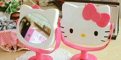 Cute Kitty Mirror