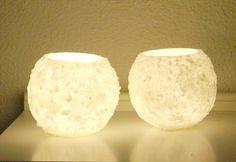 """wax lamp -fanal de cera (""""snowed""""-""""nevados"""")"""