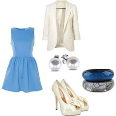 """""""The blue ocean"""" by lizlovesfashion on Polyvore"""