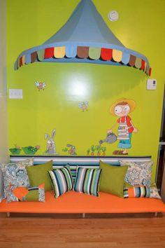 Coin lecture chambre enfant astuce pinterest coin - Coin lecture chambre enfant ...