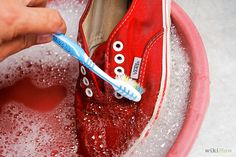 How to Clean Vans. Step by Step