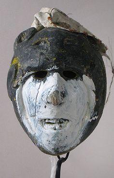 Jaguar Warrior Mask. San Luis Potosí, Mexico.