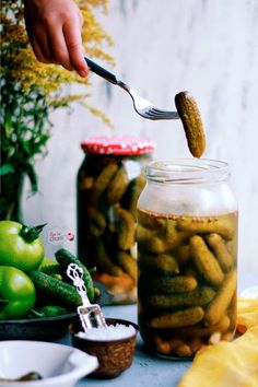 Pickles, Cucumber, Food And Drink, Pickle, Zucchini, Pickling