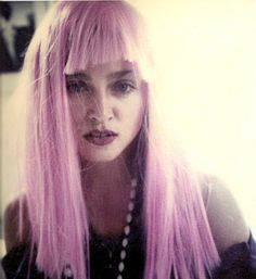 artists, peopl, pink hair, inspir, bangs, leather jackets, madonna, wigs, pink wig