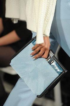 pastel #blue sac...