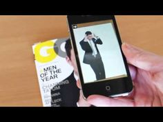 'Aurasma' is another app, which does very similar things to 'Blippar'. This video show that when you hold it up to the cover of this edition of GQ, it links to a video of the cover content. Again, I think this technology could work well with particular books, perhaps illustrations could link to digital content in some way to create an interactive playful narrative?
