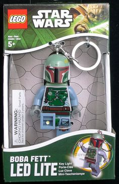 Star Wars Lego LED Key Boba Fett Santoki 508203 - 11 Main