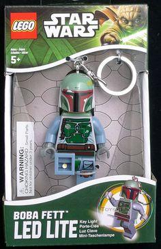Star Wars Lego LED Key Boba Fett Santoki 508203 - 11 Main