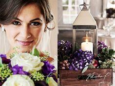 Great fall wedding colors + florals-- Sam + Mack