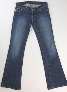 Lucky Brand Jeans Sofia Straight Stretch Mid Rise Size 6 / 28 Regular Womens #LuckyBrand #StraightLeg