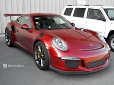 Ruby Red Metallic Porsche 911 GT3 RS