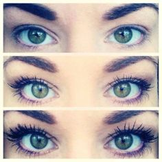 3D Fiber Lashes before and after #younique