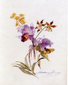 Flowers  Madeleine Jeanne Lemaire -