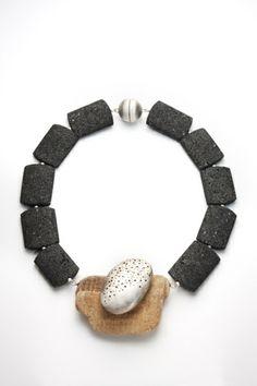 Coast Pebble Necklace Anne Morgan