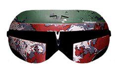 Boba Fett Star Wars Sleep Sleeping Night Eye Mask Masks Blindfold Travel kit kits Eyes cover covers patch eyes wear Slumber Slumbers Eyewear by venderstore on Etsy