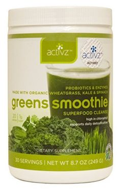 Activz Greens Smoothie Superfood Cleanse 30 Servings by Activz