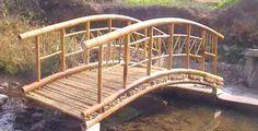 Tiki Bamboo bridge