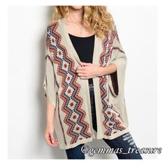 🆕 FALL CARDIGAN NOW AVAILABLE || This is FALL perfection!!! 100% Viscose (quality fabrication) size S, M, and Large to choose from. True to size. A1B2.E50 Sweaters Cardigans