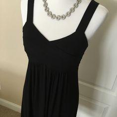 APT mid Black dress APT soft jersey dress. Holds firm on the bust area....cute dress Apt. 9 Dresses Midi