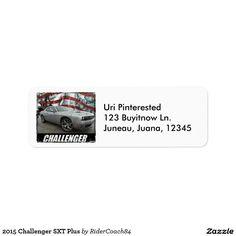 2015 Challenger SXT Plus Label