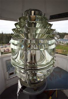 Fourth Order Fresnel Lens at Pemaquid Point Lighthouse, Maine Google Image Result for http://www.lighthousefriends.com/pemaquid3_2006.jpg