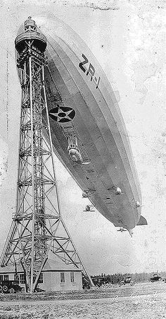 Дирижабль Shenandoah (ZR-1), состоявший на службе армии США с ноября 1923 по январь 1924 года