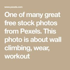 One of many great free stock photos from Pexels. This photo is about wall climbing, wear, workout Black Long Sleeve Shirt, Long Sleeve Shirts, Prosthetic Leg, Free Stock Photos, Black Men, Climbing, Improve Yourself, Photoshop, Workout